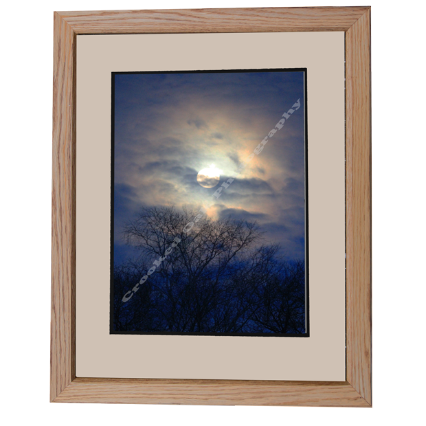 Picture Frame In Natural Finish Crooked Oak